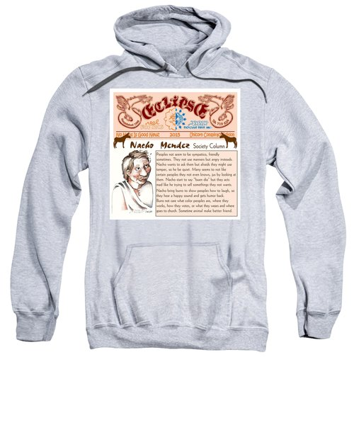 Real Fake News Society Column 2 Sweatshirt