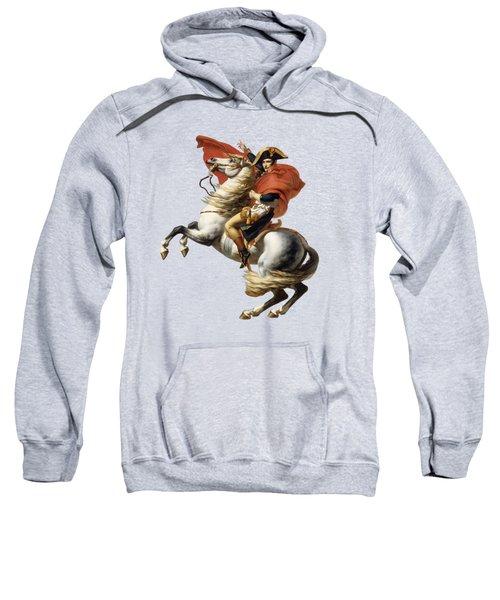 Napoleon Bonaparte On Horseback Sweatshirt
