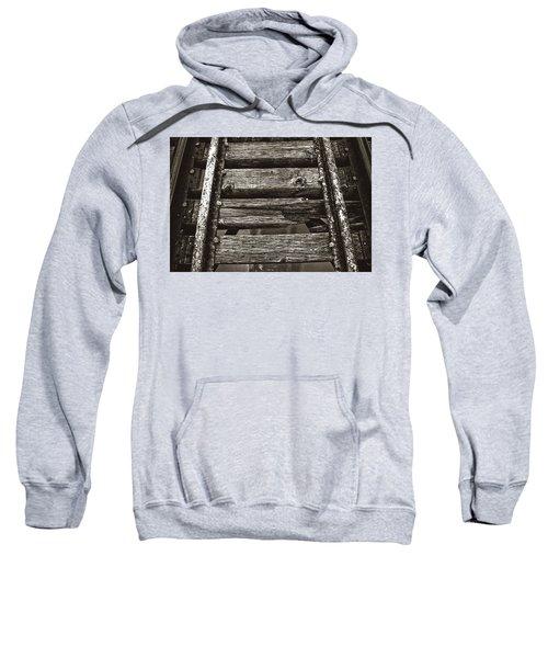 Narrow Gauge Tracks #photography #art #trains Sweatshirt