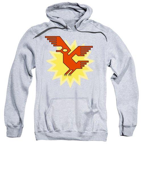 Native South American Condor Bird Sweatshirt