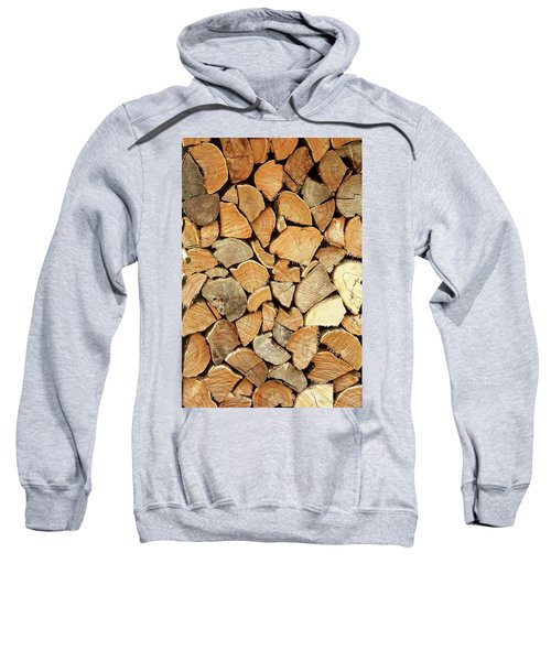 Natural Wood Sweatshirt