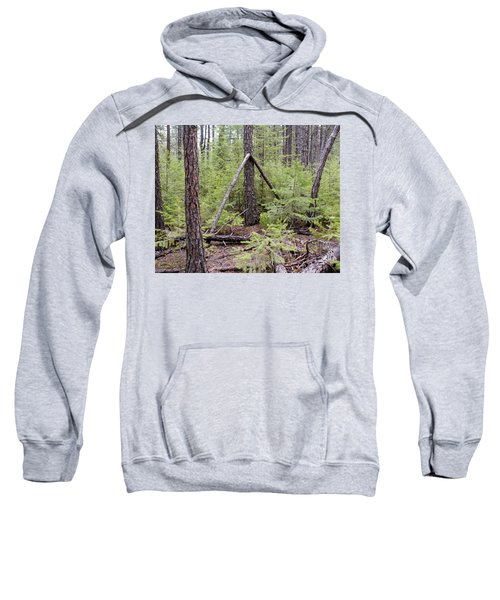Natural Peace In The Woods Sweatshirt