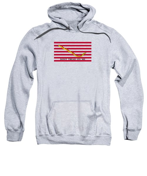 Navy Jack Flag - Don't Tread On Me Sweatshirt
