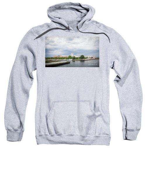 Navy Pier In Chicago Sweatshirt