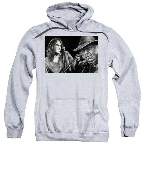 Neil Young And Neil Old Sweatshirt