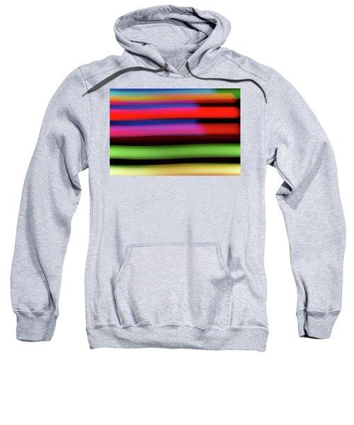 Neon Stripe Sweatshirt