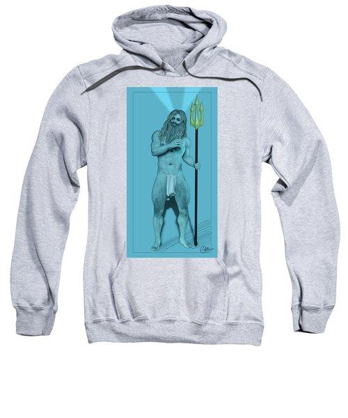 Blue Neptune Sweatshirt by Quim Abella