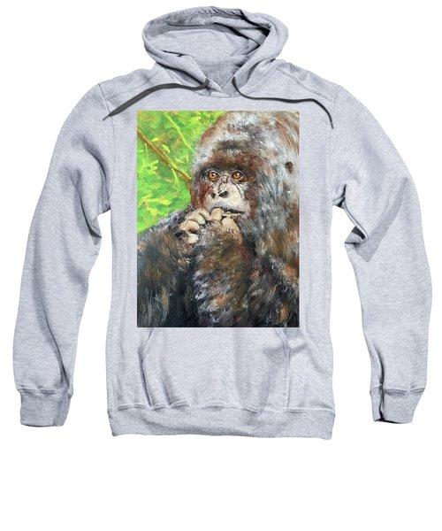Nervous Mama Gorilla Sweatshirt