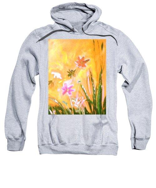 New Daisies Sweatshirt by Winsome Gunning