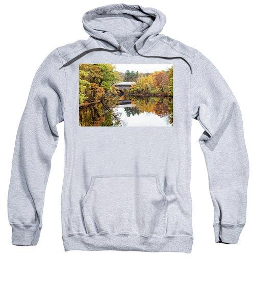 New England Covered Bridge No.63 Sweatshirt