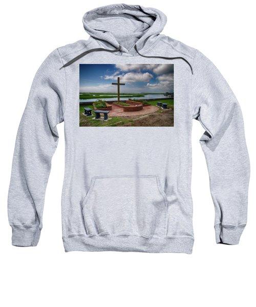 New Garden Cross At Belin Umc Sweatshirt