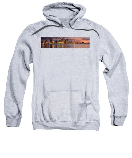 New Orleans Skyline At Dusk Sweatshirt