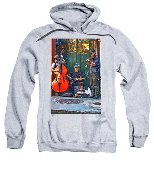 New Orleans Street Musicians Sweatshirt