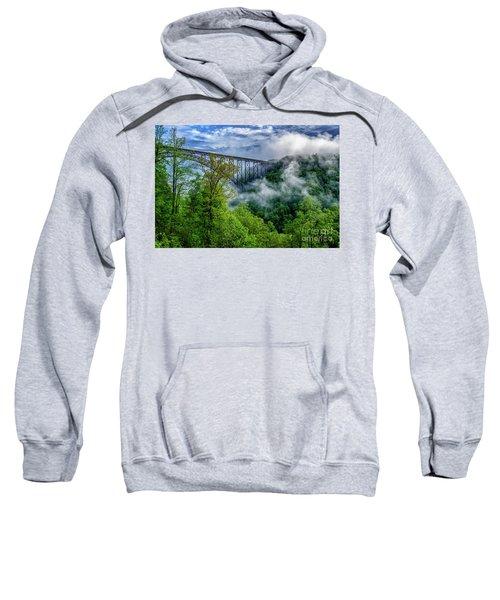 New River Gorge Bridge Morning  Sweatshirt