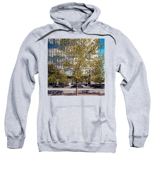 Trees On Fed Plaza Sweatshirt
