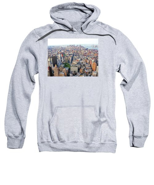 New York Aerial View Sweatshirt