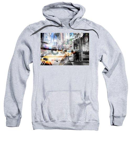 New York City Geometric Mix No. 9 Sweatshirt