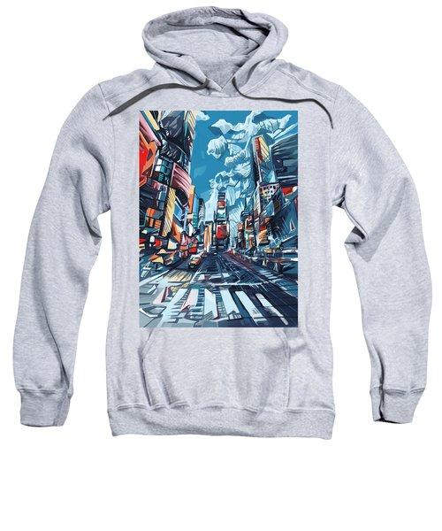New York City-times Square Sweatshirt