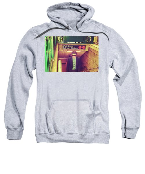 New York Subway Station Sweatshirt