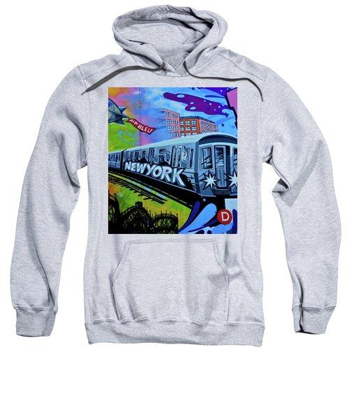 New York Train Sweatshirt