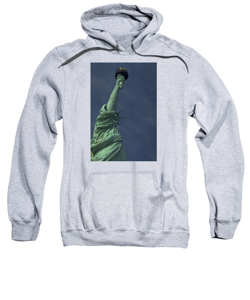 Sweatshirt featuring the photograph New York by Travel Pics