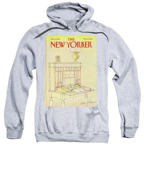 New Yorker Cover December 6th 1982 Sweatshirt