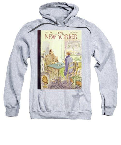 New Yorker January 23 1954 Sweatshirt