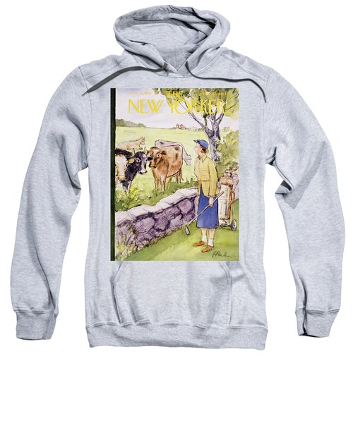 New Yorker June 11 1955 Sweatshirt