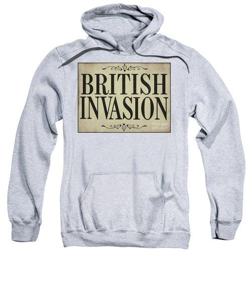 Newspaper Headline British Invasion Sweatshirt