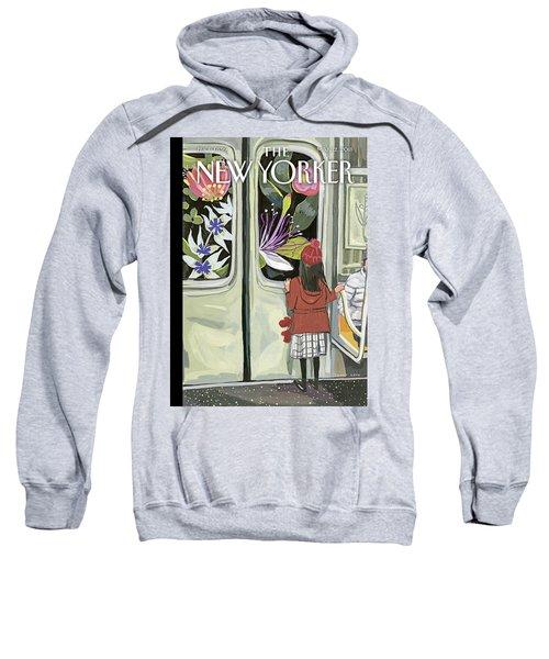 Next Stop Spring Sweatshirt