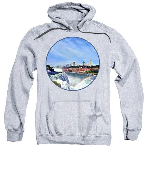 Niagara Falls Ny - Under The Rainbow Sweatshirt