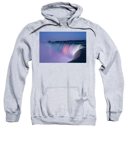 Niagara Falls At Dusk Sweatshirt