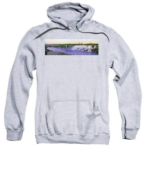 Niagara Falls At Dusk Sweatshirt