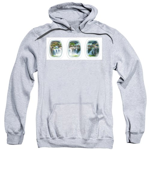 Niagara Falls Porthole Windows Sweatshirt