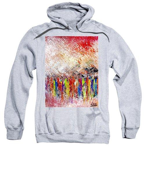 Night Covers Us Sweatshirt