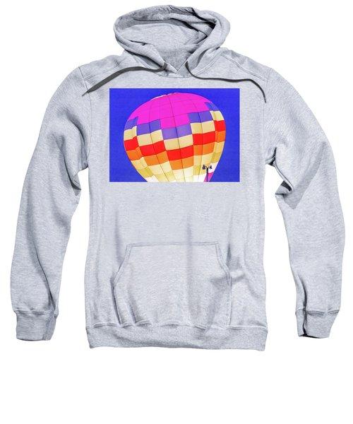 Night Glow At The Hot Air Balloon Festival Sweatshirt