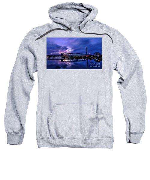 Night Swing Bridge Sweatshirt