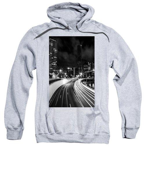 Night Time In The City  Sweatshirt