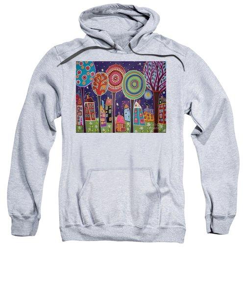 Night Village Sweatshirt