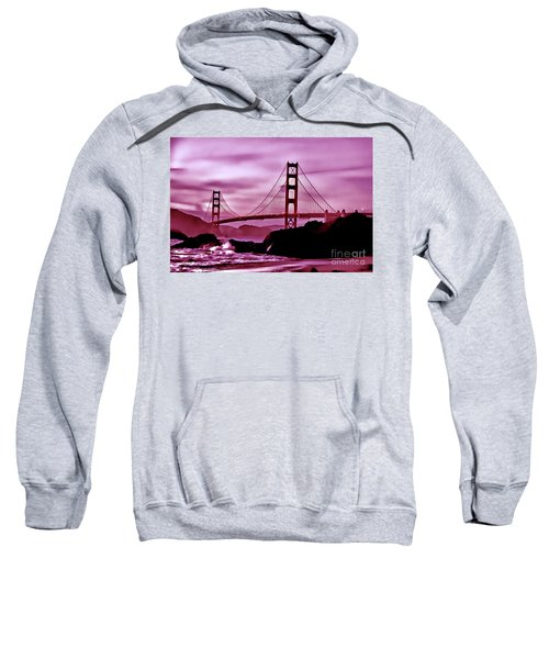 Nightfall At The Golden Gate Sweatshirt
