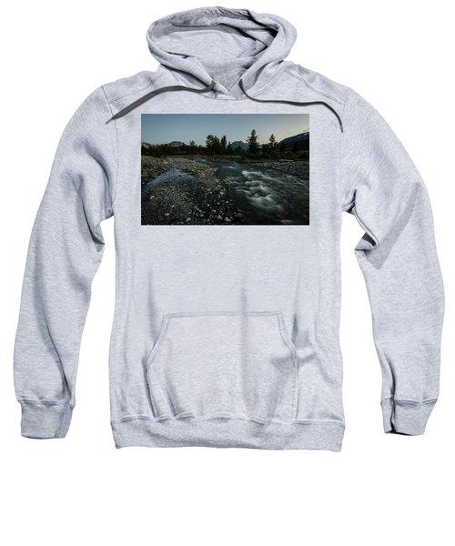 Nightfall In Montana Sweatshirt