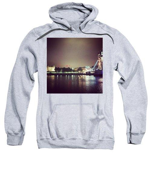 Nighttime In London Sweatshirt by Nancy Ann Healy
