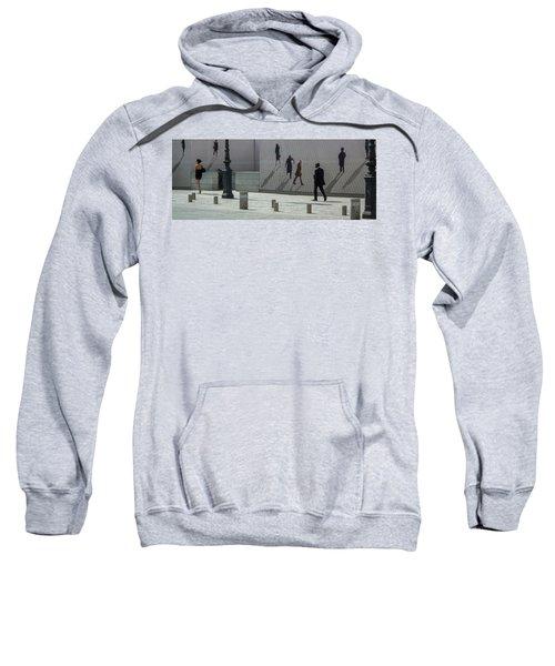 Nine Pedestrians At Place Vendome Sweatshirt