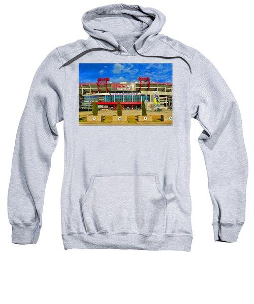Nissan Stadium Home Of The Tennessee Titans Sweatshirt