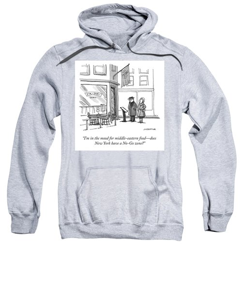 No Go Zone Sweatshirt