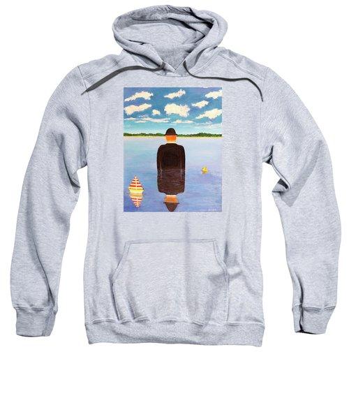 No Man Is An Island Sweatshirt