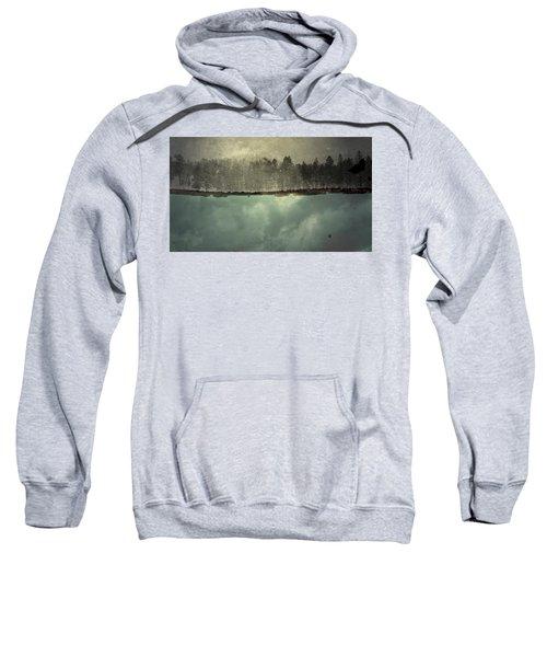 No One Ever Leaves  Sweatshirt