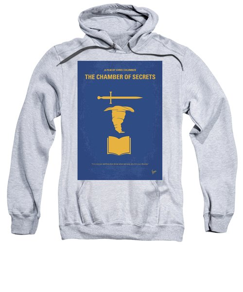 No101-2 My Hp - Chamber Of Secrets Minimal Movie Poster Sweatshirt