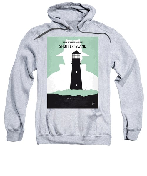 No513 My Shutter Island Minimal Movie Poster Sweatshirt