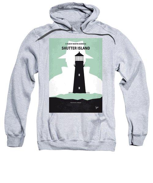 No513 My Shutter Island Minimal Movie Poster Sweatshirt